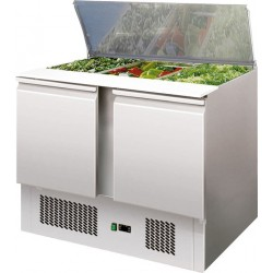 Refrigerated saladette 2 GN 1/1 + 3 GN1/6