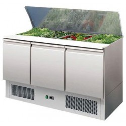 Refrigerated saladette 4 GN 1/1